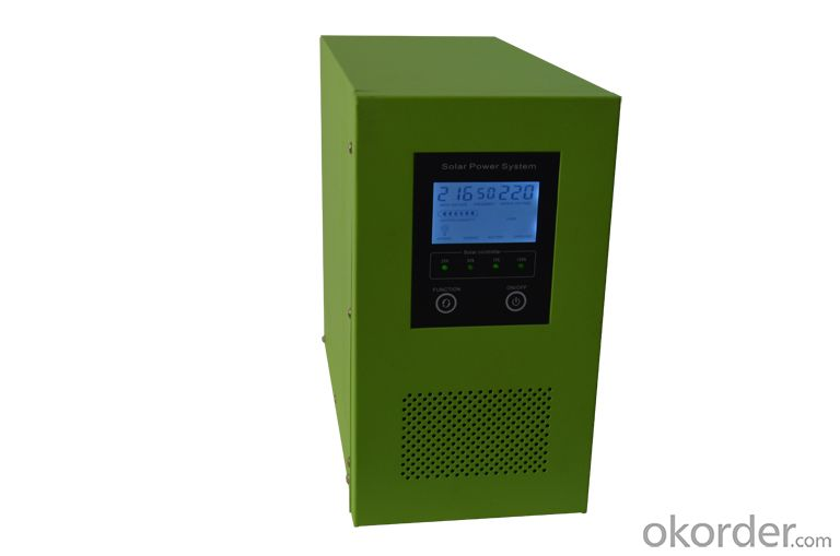 Solar Intellegent Charger With Inverter 3000W~3500W True Short Circuit Protection,