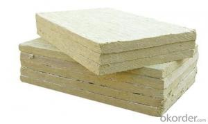 Rock Wool Mineral and Fiber Board Made in China