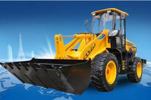 Wheel-loader: FL956F-II,Using the Dual-Pump Flow-Converging System