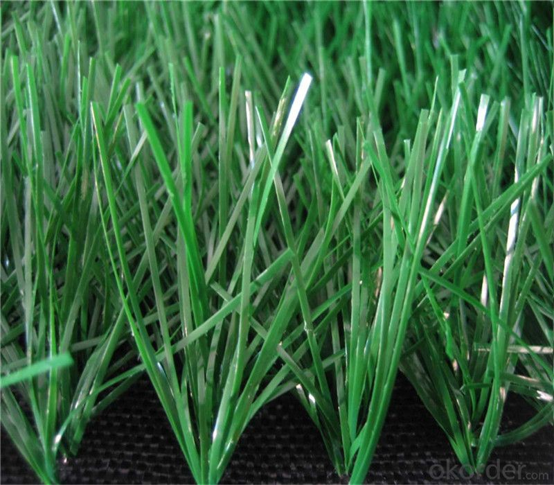 Monofilament Curly Non-infilling Artificial Soccer Grass Turf
