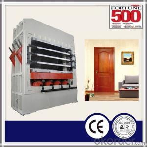 MDF / HDF Mould Door Skin Hot Press Machine