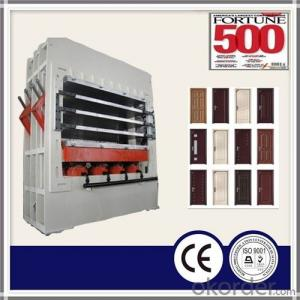 Moulded Door Skin Hot Press Machine for HDF Veneer Door Skin