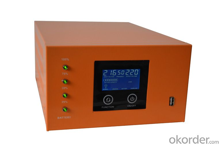 Solar Intellegent Charger With Inverter 350W-500W True Short Circuit Protection,