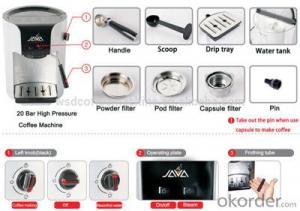 Semi Automatic Coffee Machine Espresso Coffee Maker supplied by China