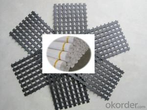 Bitumen Coated  Black  Polyester Geogrid