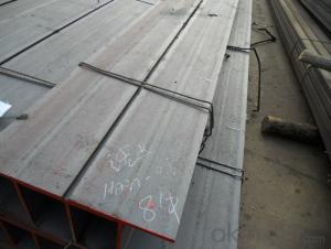 Prime Low Carbon Hot Rolled H Beam at Length 12m