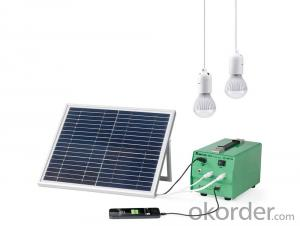 Solar Lighting System - DC >10W Solar Lighting System