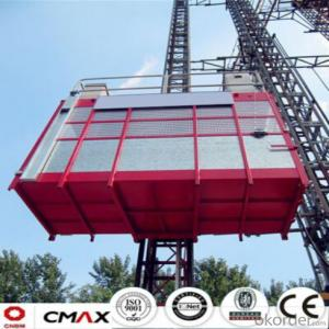 Building Hoist Hot Galvanizing Mast Section Spare Parts with 2.4ton Capacity