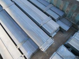 Seel Flat Bars with Material Grade Q235/SS400