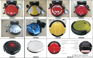 Cyclonic Robot Vacuum Cleaner with Self Charging/Remote Control/Schedule Time Setting Fuction