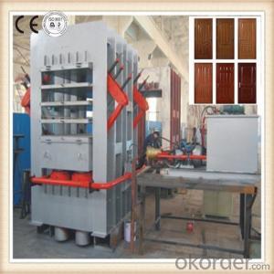 Wooden Based Door Laminating Hot Press Machine