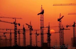 Tower Crane for Sale 75m 360 degree rotate jib hammerhead QTZ 7550
