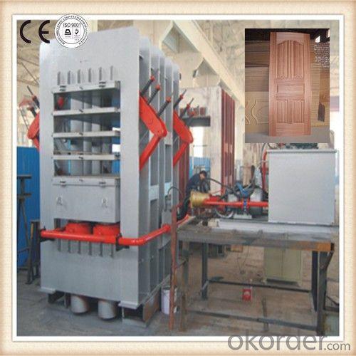 Buy 5 Layers Moulding Skin Door Hot Press Machine