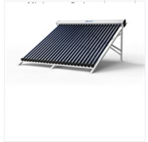 Pressurized Solar Collector with Heat Pump