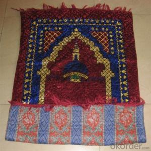 Cheap Muslim Prayer Carpet with Compass Wholesale