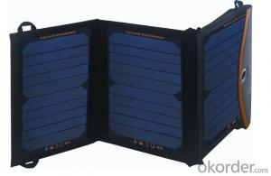Sunpower Cell 18W Solar Charger Panel for Mobile Phone