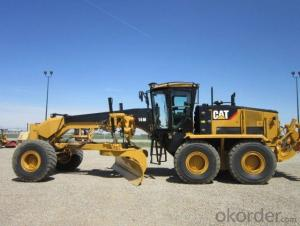 Motor Grader 215HP GR215  with CE for Road Construction