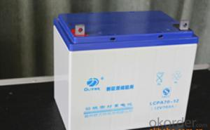Energy Storage Lead-acid Batteries LCPA series