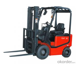 Battery four wheel forklift FE4F16 18 DC