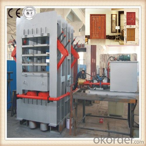 Single and Double Side Melamine Door Veneer Machine