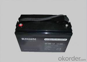 Maintenance Free Battery 12v 100ah 1.5v um3 Battery Size Battery