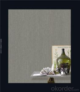 Fabric Backed Wallcovering Flocking Backed Vinyl Wallpaper Country Style Design Wallcovering