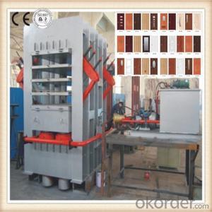 Multilayer Door Skin Veneer Hot Press Machinery