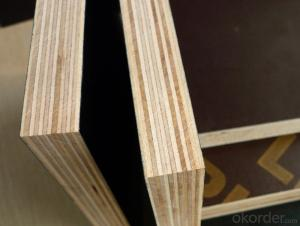Brown and Black  Film faced plywood Shuttering Plywood