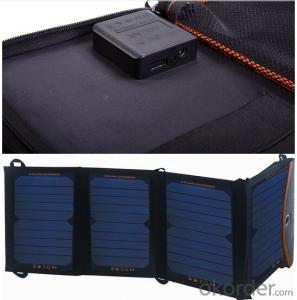 24W USB Solar Panel Foldable for Mobile Phone and Camera