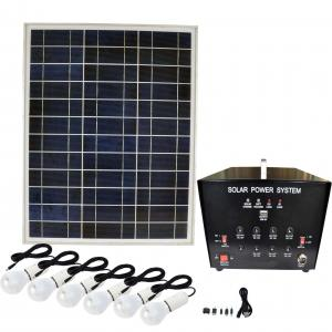 Buy Portable Solar Power Systerm Kits/Camping Kits Home Use 2000W