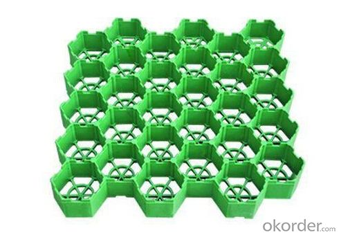 Plastic Grass Grid used for Lot Grass Protection