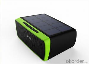 Portable Solar Bluetooth Speaker Waterproof Design