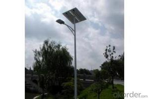 LED Street Light with Solar Panel 2015 Widely Used CE ROHS UL