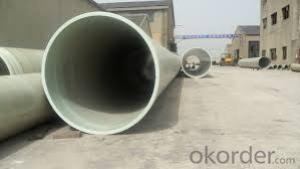 FRP Pipe Fiber Reinforce Plastic Pipe in Sea Water Tansport