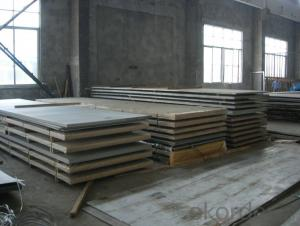 Stainless Steel Metal Sheet with Customized Thickness