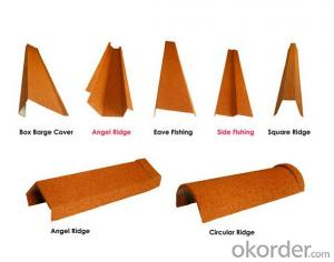 Stone Coated Metal Roofing Sheet Accessories