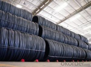 Q195 low carbon wire galvanized steel wire rod