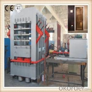 Veneered Door Skin Hydraulic Prss Machine