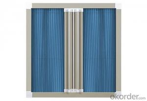 PP Pleated Window Screen Mesh for Construction