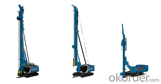 Buy KLU34-1000 Bored Pile Drilling Rig for Sale Price,Size,Weight