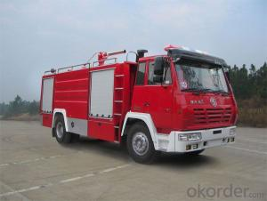 Foam Fire Fighting Truck  Hot Sale Camc 4X2 Water