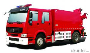 Fire Truck  HOWO 4*2 Water and Foam (7000/8000L)