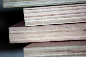 Brown Film Finger Jointed Faced Shuttering Plywood for Building Usage