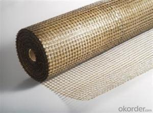 Road Reinforcement Basalt Fiber Mesh With different Mesh Size