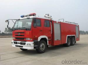 Fire Engine Truck 6*4 Water & Foam Tank Fire Fighting Truck