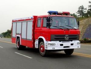 Mini Fire Truck 2000L Dongfeng 4X2