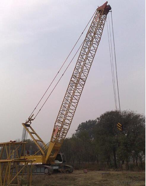 Electric Crawler Crane Cranes 100 Ton Mobile Crane QUY100