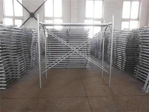 Steel H Frame Scaffolding High Quality Material