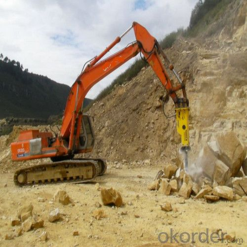 Powerful Hydraulic Breaker Hb 680 from China
