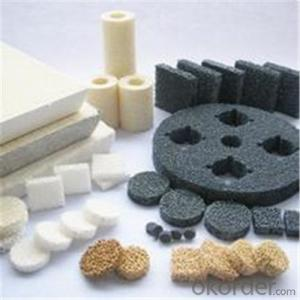 Silicon /Alumina Carbide Ceramic Foam Filter  with Good Quality in 2015